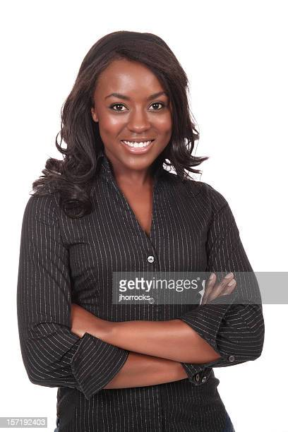 Stylish Young African American Woman