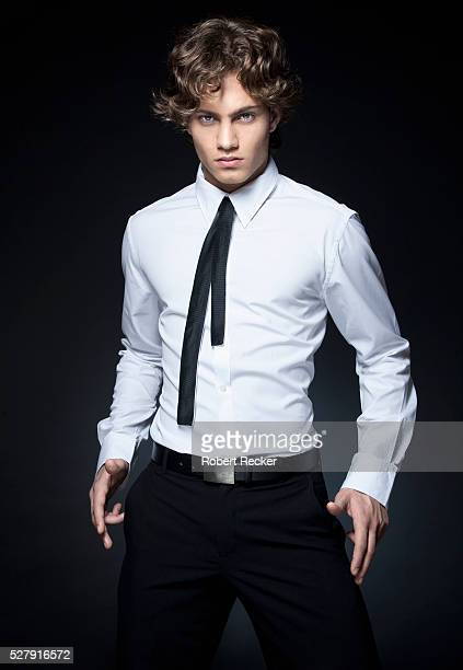 stylish young man - shirt stock pictures, royalty-free photos & images