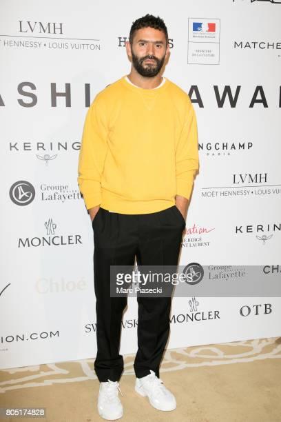 Stylist Alexandre Mattiussi attends the 'ANDAM 2017' Prizewinner cocktail at Ministere de la Culture on June 30 2017 in Paris France