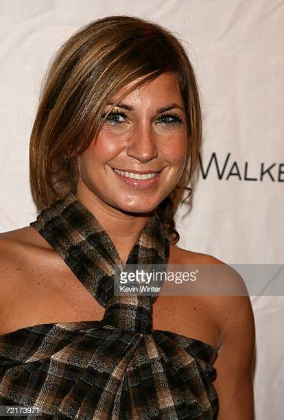 Stylist Ali Scott arrives at the Johnnie Walker Dressed to Kilt 2006 fashion show during the Mercedes Benz Fashion Week at Smashbox Studios in the...
