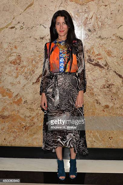 Stylist Amanda Ross attends the Gucci beauty launch event hosted by Frida Giannini on June 4 2014 in New York City
