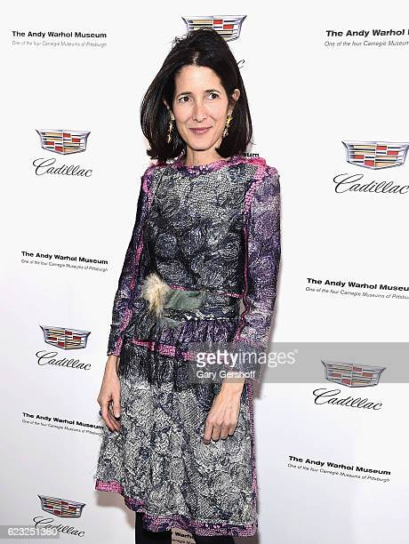 Stylist Amanda Ross attends the 'Letters To Andy Warhol' exhibition opening at Cadillac House on November 14 2016 in New York City