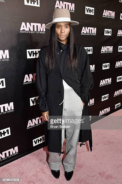 Stylist and ANTM Judge, Law Roach attends the VH1 America's Next Top Model premiere party at Vandal on December 8, 2016 in New York City.