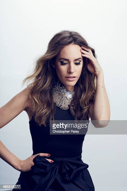 Stylist and TV personality Louise Roe is photographed for Beauty Entertainment on November 20, 2013 in Los Angeles, California.