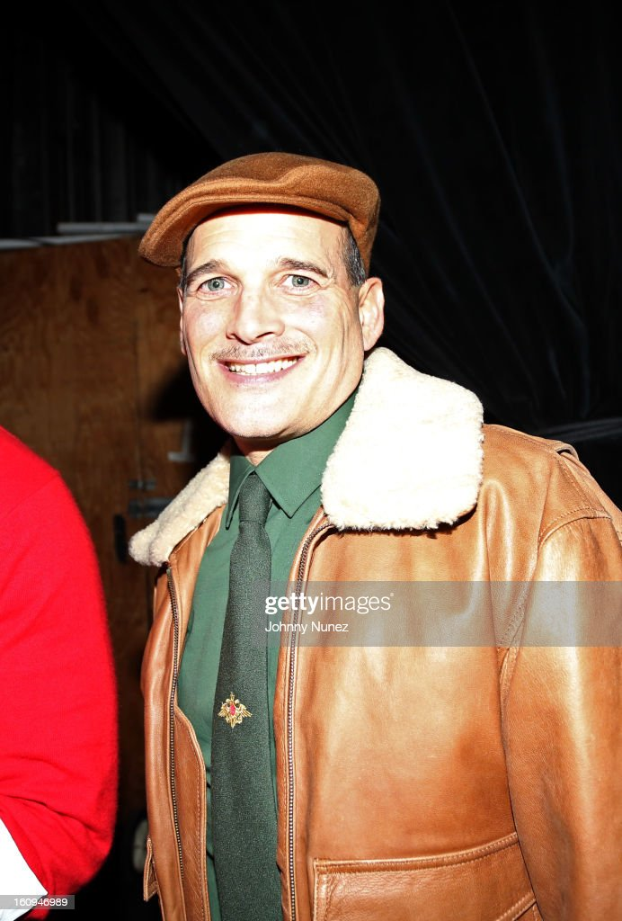Stylist and TV personality Phillip Bloch attends Harlem's Fashion Row Presentation during Fall 2013 Mercedes-Benz Fashion Week at The Apollo Theater on February 7, 2013 in New York City.