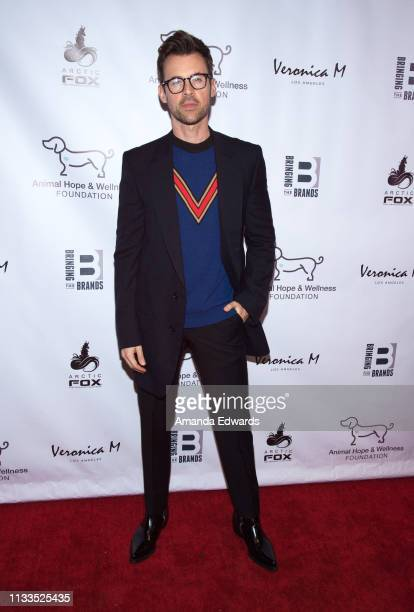 Stylist Brad Goreski attends The Animal Hope Wellness Foundation's 2nd Annual Compassion Gala at Playa Studios on March 03 2019 in Culver City...