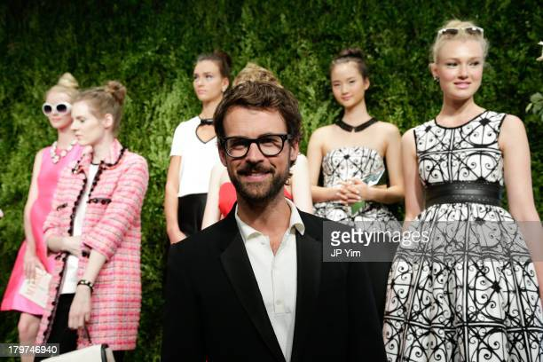 Stylist Brad Goreski attends the Kate Spade New York presentation during Spring 2014 MercedesBenz Fashion Week at on September 6 2013 in New York City