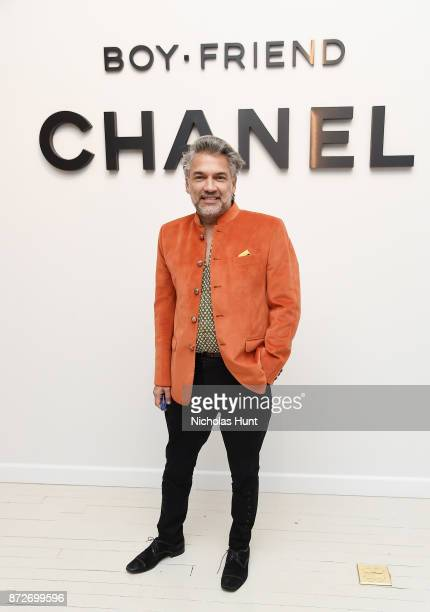 Stylist Carlos Mota attends as CHANEL celebrates the launch of the Coco Club a BoyFriend Watch event at The Wing Soho on November 10 2017 in New York...