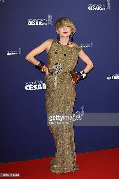 Stylist Catherine Baba attends the 37th Cesar Film Awards at Theatre du Chatelet on February 24 2012 in Paris France