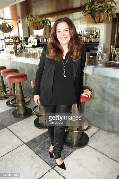Stylist Deborah Waknin attends the The Hollywood Reporter Jimmy Choo Inaugural 25 Most Powerful Stylists Luncheon at Soho House on March 14 2012 in...