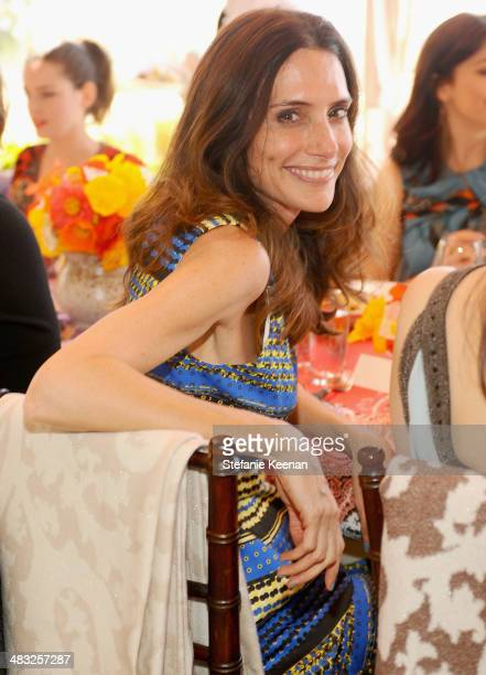 Stylist Elizabeth Stewart attends Vogue Lunch In Celebration Of The Etro Spring Collection Hosted By Sally Singer at Sunset Tower Hotel on April 3...