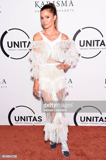Stylist Elizabeth Sulcer attends the UNITAS 2nd annual gala against human trafficking at Capitale on September 13 2016 in New York City
