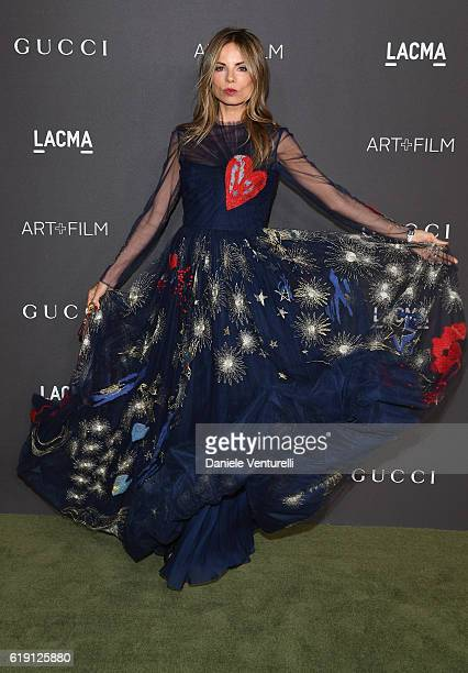 Stylist Erica Pelosini attends the 2016 LACMA Art Film Gala Honoring Robert Irwin and Kathryn Bigelow Presented By Gucci at LACMA on October 29 2016...