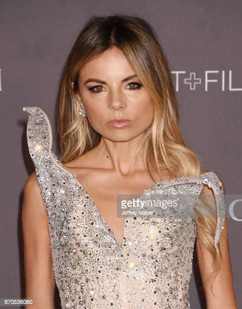 Stylist Erica Pelosini attends the 2017 LACMA Art Film Gala Honoring Mark Bradford and George Lucas presented by Gucci at LACMA on November 4 2017 in...