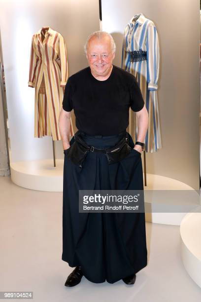 Stylist Faycal Amor attends L'Alchimie secrete d'une collection The Secret Alchemy of a Collection Exhibition Preview at Galerie Azzedine Alaia on...