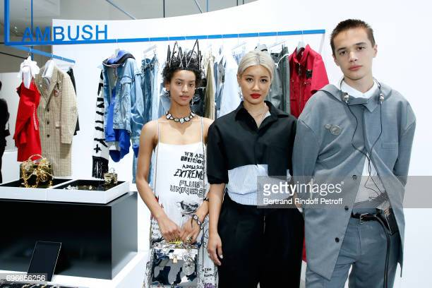"""Stylist Finalist for Ambush, Yoon Ahn attends the """"Young Fashion Designer"""" : LVMH Prize 2017 Edition at Fondation Louis Vuitton on June 16, 2017 in..."""
