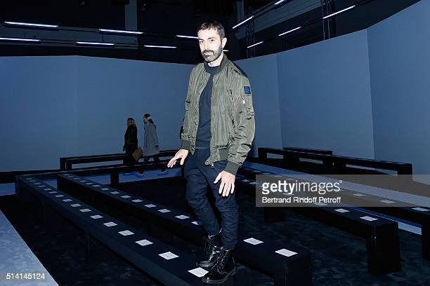 Stylist Giambattista Valli attends the Giambattista Valli show as part of the Paris Fashion Week Womenswear Fall/Winter 2016/2017 on March 7 2016 in...