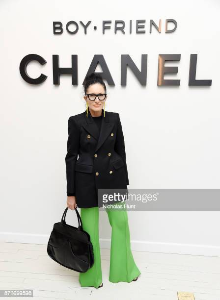 Stylist Haidee FindlayLevin attends as CHANEL celebrates the launch of the Coco Club a BoyFriend Watch event at The Wing Soho on November 10 2017 in...