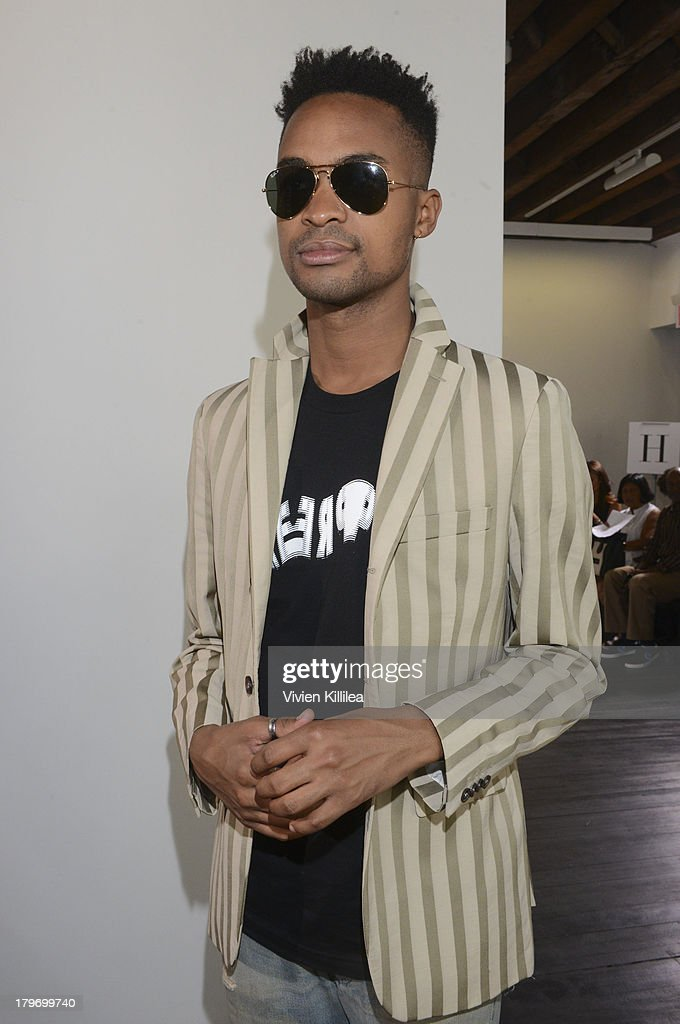 d2d6d0ebbba Chadwick Bell - Front Row - Mercedes-Benz Fashion Week Spring 2014 : News  Photo