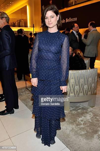Stylist Ilaria Urbinati attends the Giorgio Armani special celebration honoring Martin Scorsese and Paolo Sorrentino hosted by Roberta Armani at the...