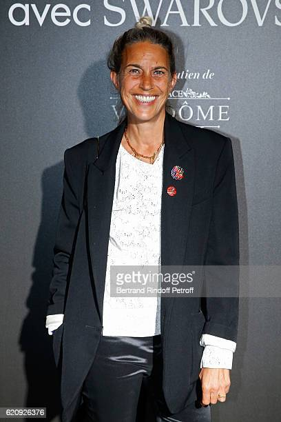 Stylist Isabel Marant attends the Vogue Fashion Festival at Hotel Potocki on November 3 2016 in Paris France
