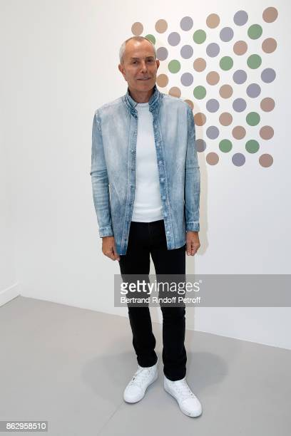 Stylist JeanClaude Jitrois attends the FIAC 2017 International Contemporary Art Fair Press Preview at Le Grand Palais on October 18 2017 in Paris...