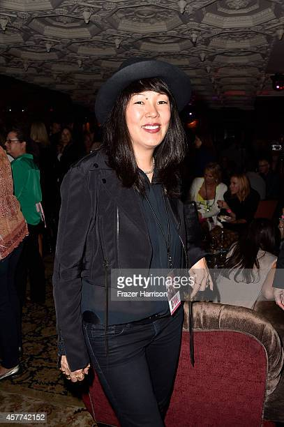 Stylist Jeanne Yang attends Power of Pink 2014 Benefiting the Cancer Prevention Program at Saint John's Health Center at House of Blues Sunset Strip...