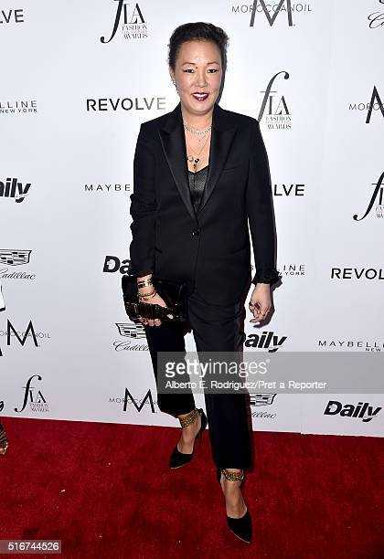 """Stylist Jeanne Yang attends the Daily Front Row """"Fashion Los Angeles Awards"""" at Sunset Tower Hotel on March 20, 2016 in West Hollywood, California."""