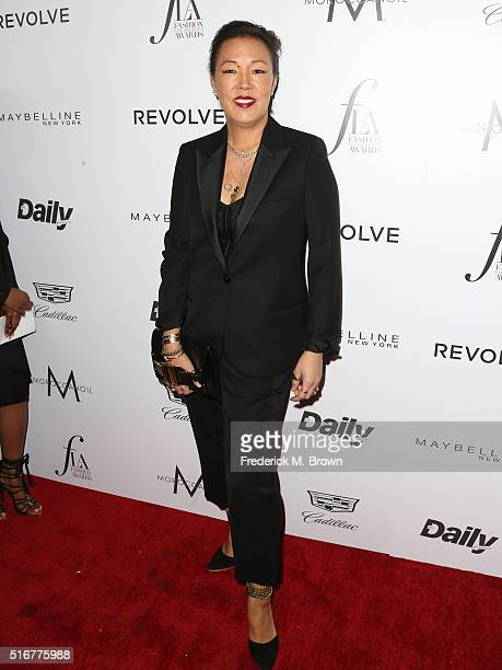 Stylist Jeanne Yang attends the Daily Front Row Fashion Los Angeles Awards at Sunset Tower Hotel on March 20 2016 in West Hollywood California