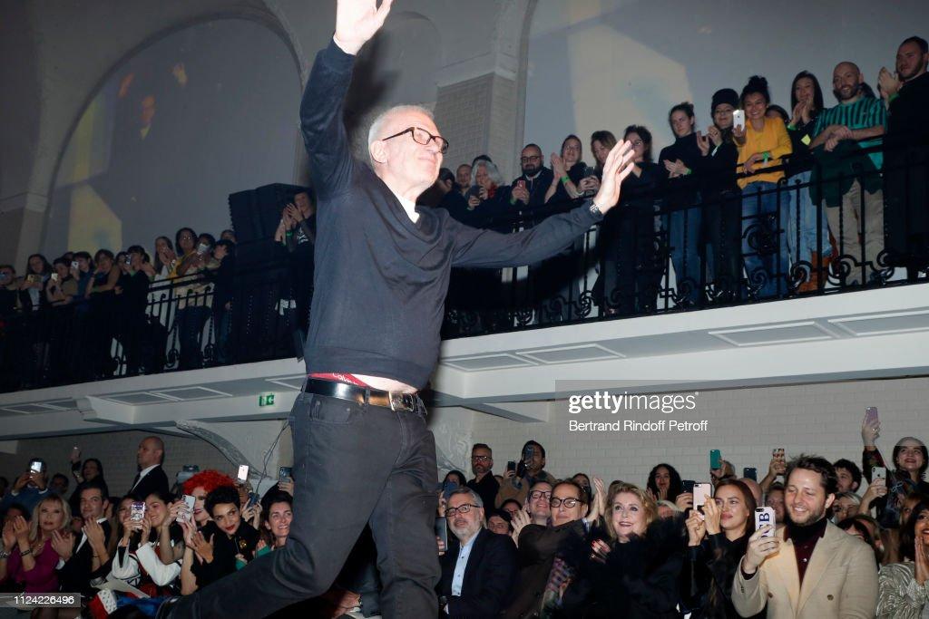 Jean-Paul Gaultier : Front Row - Paris Fashion Week - Haute Couture Spring Summer 2019 : News Photo