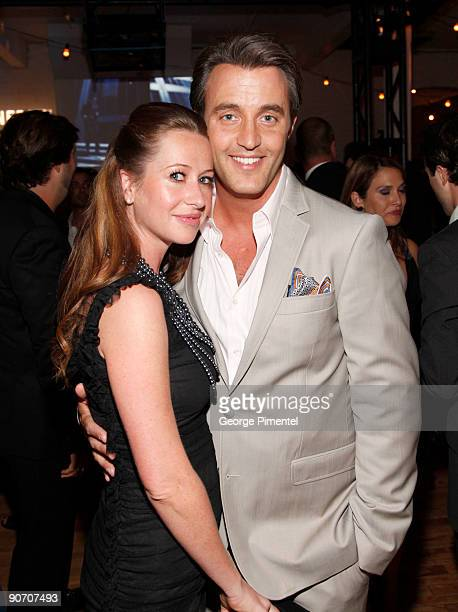 Stylist Jessica Mulroney and television host Ben Mulroney attend the Holt Renfrew launch of Vignettes with Alexa Chung Coco Rocha and The Stills held...