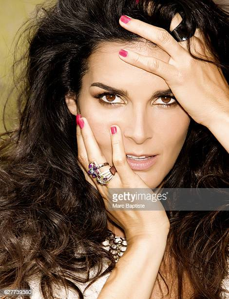 Jessica Paster Hair David Gardner Makeup Sammy Mourabit Manicurist Candace Cason Jacket by Givenchy rings by Chanel