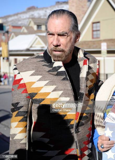 Stylist John Paul DeJoria seen around town on January 19 2009 in Park City Utah