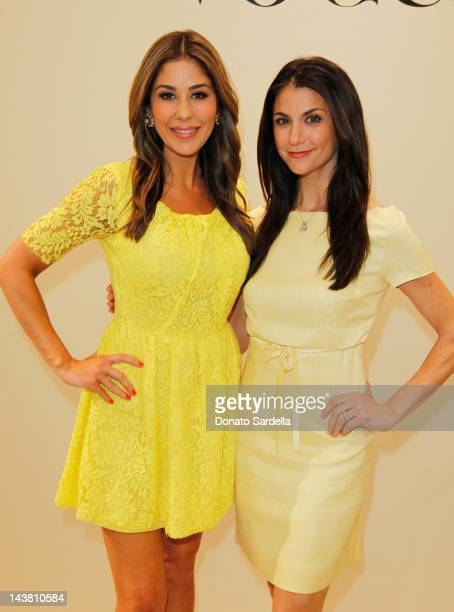 Stylist Julie Waldorf and TV personality Samantha Harris attend Styled By Vogue A Fashion Presentation Highlighting The Latest Summer Trends at...