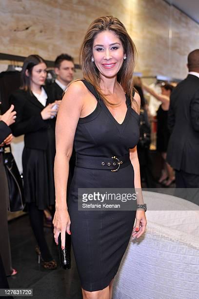 Stylist Julie Waldorf attends FENDI ArandaLasch Craftsmanship Event in Beverly Hills at Fendi on March 8 2011 in Beverly Hills California