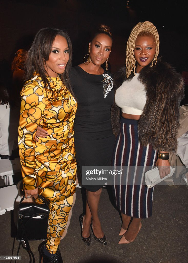 Tracy Reese - Front Row - Mercedes-Benz Fashion Week Fall 2015 : News Photo