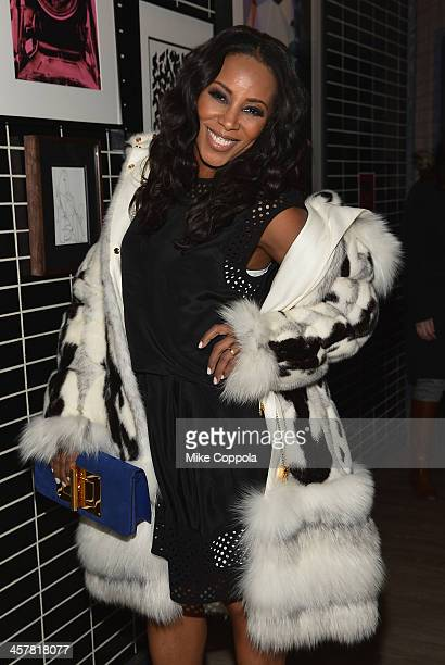 Stylist June Ambrose attends the after party for The Secret Life Of Walter Mitty screening hosted by 20th Century Fox with The Cinema Society and...