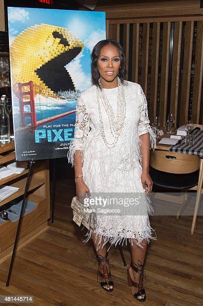 Stylist June Ambrose attends the Dinner Honoring the Women of 'Pixels' at Upland on July 20 2015 in New York City