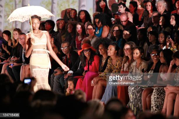 1480852c1523 Stylist June Ambrose singer Solange Bowles actress Aisha Tyler TV  personality Louise Roe model Selita Ebanks