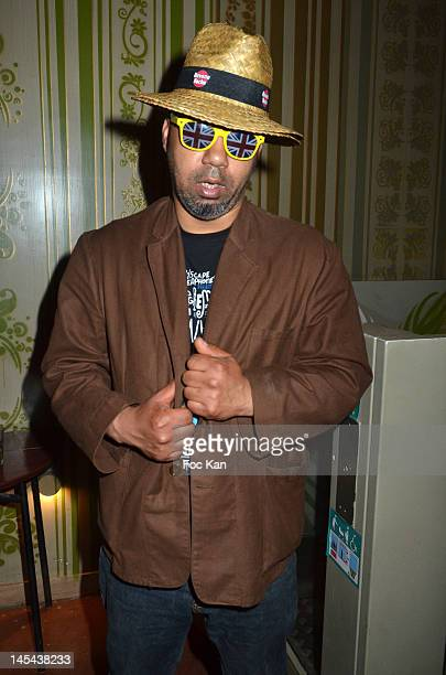 Stylist Karim Bonnet from Impasse De La Defense attends the '7 Days in Havana' Premiere after party at La Favela Chic on May 29, 2012 in Paris,...