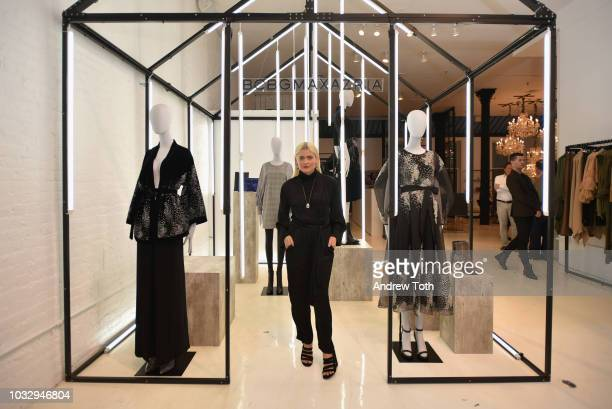 Stylist Kate Young attends the celebration of the BCBGMAXAZRIA SoHo store opening with Kate Young Bernd Kroeber and InStyle on September 13 2018 in...