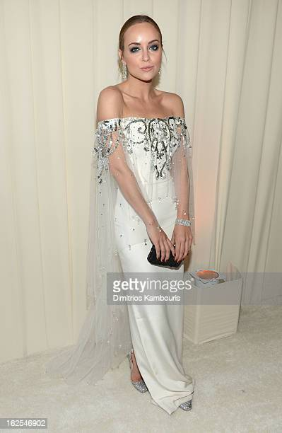 Stylist Kelly Framel attends the 21st Annual Elton John AIDS Foundation Academy Awards Viewing Party at West Hollywood Park on February 24 2013 in...