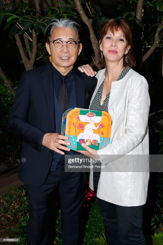 """Lost In The Jungle Paradise"" - Delacre Collection Designed By Kenzo Takada : Photocall At Hotel Mandarin Oriental"