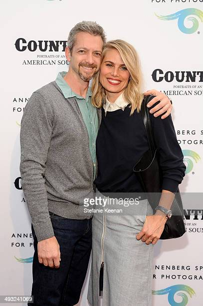 Stylist Kristie Streicher and guest attend the Annenberg Space for Photography Opening Celebration for Country Portraits of an American Sound at the...