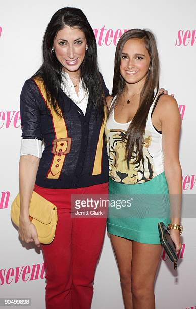 Stylist Lauren Rae Levy and Singer/ NYC Prep cast member Kelli Brooke Tomashoff attends MTV's The City Season 2 premiere at Hearst Tower on September...