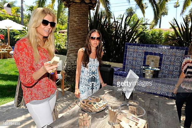 Stylist Lindsay Albanese attends Alison Brod Public Relations Los Angeles Summer Style Event on June 15 2011 in Beverly Hills California