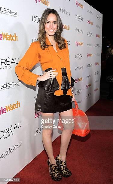 Stylist Louise Roe arrives to 'A Night Of Red Carpet Style' hosted by People StyleWatch at Decades on January 27, 2011 in Los Angeles, California.