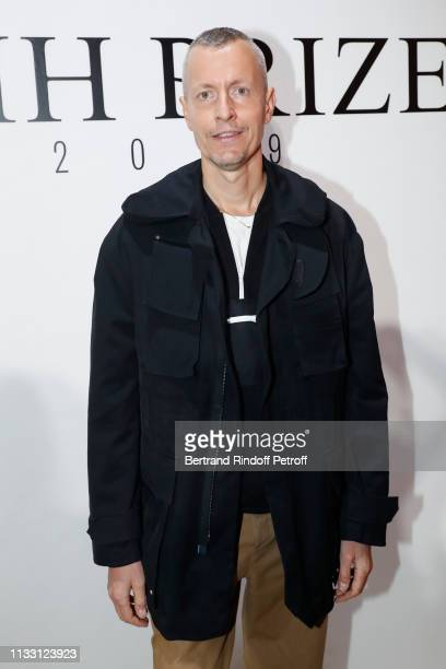 Stylist Lucas Ossendrijver attend the LVMH Prize 2019 Edition at Louis Vuitton Avenue Montaigne Store on March 01, 2019 in Paris, France.
