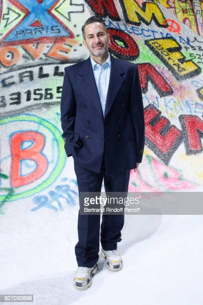 Stylist Marc Jacobs attends the Balenciaga show as part of the Paris Fashion Week Womenswear Fall/Winter 2018/2019 on March 4 2018 in Paris France