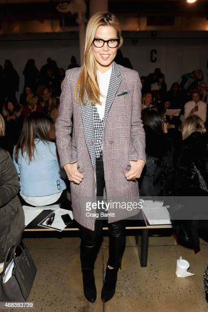 Stylist Mary Alice Stephenson attends the Ohne Titel fashion show during MADE Fashion Week Fall 2014 at Milk Studios on February 10 2014 in New York...